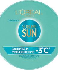 L'Oreal Paris Sublime Sun Свежесть и защита Гель после загара Sublime Sun Свежесть и защита Гель после загара