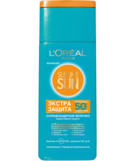 L'Oreal Paris Sublime Sun Защита на клеточном уровне Молочко для тела SPF50 Sublime Sun Защита на клеточном уровне Молочко для тела SPF50