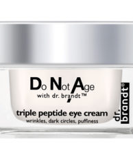 Dr. Brandt Do Not Age Интенсивно-омолаживающий крем для глаз с трипептидом от припухлости и темных кругов