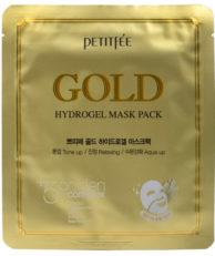 Petitfee Гидрогелевая маска для лица с золотом в одноразовой упаковке