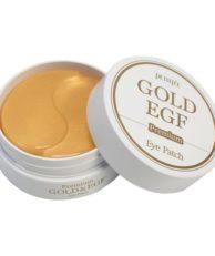 Petitfee Гидрогелевые патчи для глаз EGF и золото