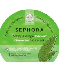 SEPHORA COLLECTION Маска для лица с зеленым чаем. Новая коллекция