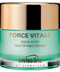 Swissline FORCE VITALE AQUA-PURE Матирующий увлажняющий крем для смешанной и жирной кожи