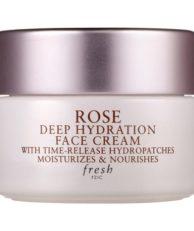 Fresh ROSE DEEP HYDRATION FACE CREAM Крем для лица для глубокого увлажнения в дорожном формате