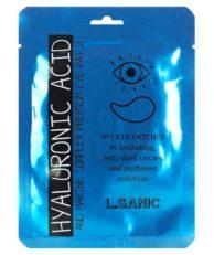 L.Sanic Патчи гидрогелевые для глаз с гиалуроновой кислотой и экстрактом водорослей